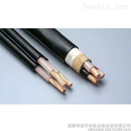 五常市扁平电缆YVFRB-5*2.5