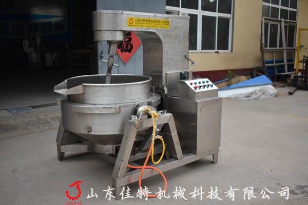 <strong>控温均匀的豆沙馅料搅拌炒锅保证产品品质</strong>
